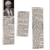 Obituary for August Schreiner
